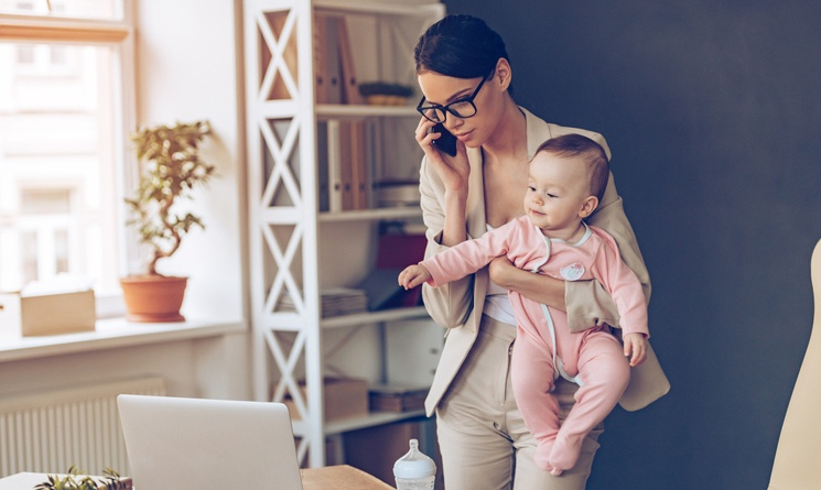 8 Tips When Working from Home with a Baby